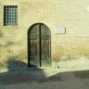 Casa del Boccaccio, now a museum.