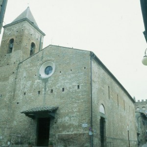 Church of San Jacopo e San Filippo, Boccaccio's parish church just up the street from his house.