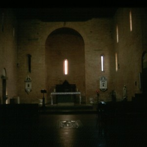 The interior of San Jacopo e San Filippo.