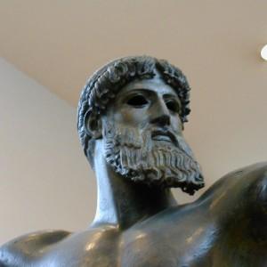 Poseidon, detail