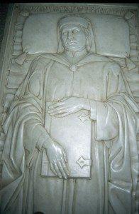 Boccaccio's tomb