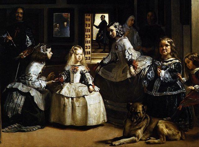 800px-Diego_Velázquez_-_Las_Meninas_detail_-_WGA24449