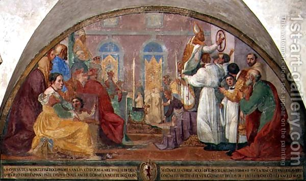 Pope-Eugene-IV-Consecrating-The-Convent-Of-San-Marco-In-1442