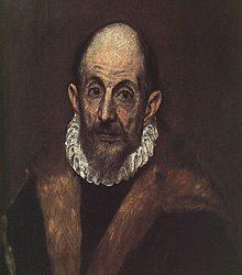 Portrait of A Man (presumed self-portrait of El Greco)