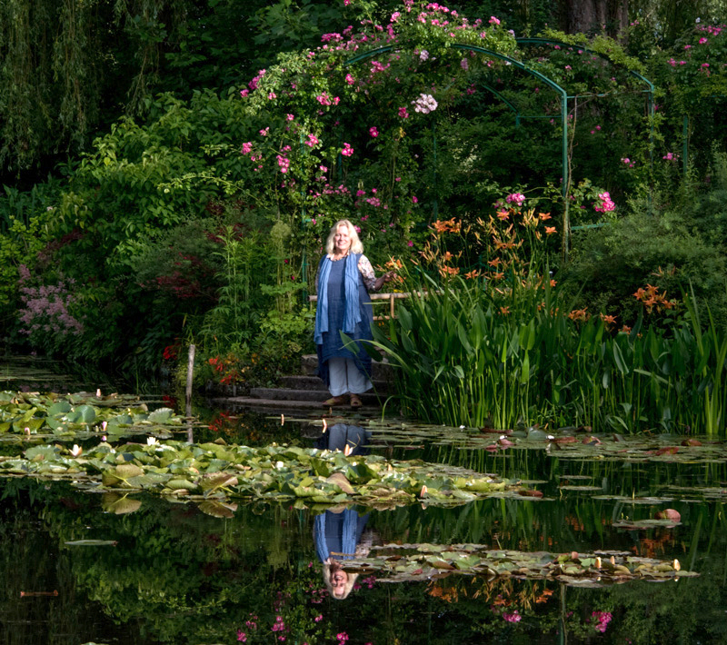 Elizabeth Murray at Giverny