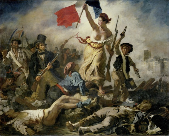 Delacroix, Liberty Leading the People, Louvre Museum, Paris
