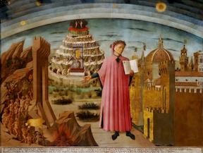 La Divina Commedia di Dante, Domenico di Michelino (1465)